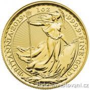Investiční zlatá mince Britannia -2019