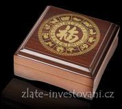 Dárková etuje na 1Oz zlatou minci lunárního kalendáře II.