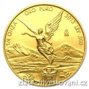 Investiční zlatá mince Libertad-Mexiko