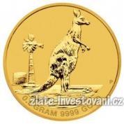 Investiční zlatá mince Mini Roo