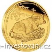 Investiční zlatá mince rok buvola  2009