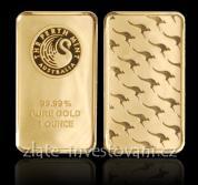 Investiční zlatá cihla Australský klokan- Perth Mint