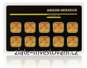 Investiční zlatý produkt Multicard-Argor Heraeus