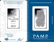 Investiční paladium -cihla PAMP