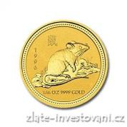 Investiční zlatá mince rok krysy 1996