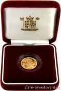 Zlatý půl Sovereign-proof