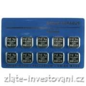 Investiční palladiová multicard Argor-Heraeus