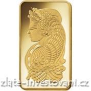 Investiční zlatá cihla PAMP