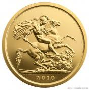 Investiční set zlatých mincí sovereign-proof 3 mince
