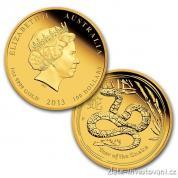 Set tří mincí lunárního kalendáře rok hada 2013-proof