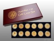 Investiční zlatý set lunárné série I.-1 Oz Austrálie