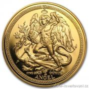 Investiční zlatá mince Angel-Isle of Man