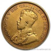 Zlatá mince král George V.-Kanada 10 dolarů  1914