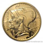 Investiční zlatá mince Britannia-2003