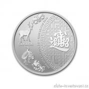 Investiční stříbrná mince patero požehnání-Kanada