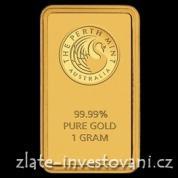 Investiční zlatá cihla Australský Kangaroo-1 g