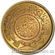 Zlatá mince arabská guinea-1951