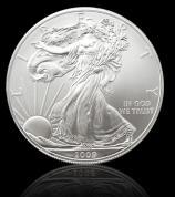 Investiční stříbrná mince American Eagle