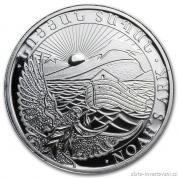 Investiční stříbrná mince arménská Archa Noemova