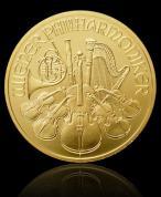 Investiční zlatá mince Philharmoniker