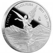 Investiční stříbrná mince Libertad