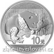 Investiční stříbrná mince Panda 2016