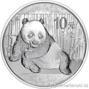 Investiční stříbrná mince Panda 2015