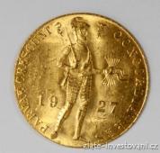 Zlatý nizozemský Dukát 1928