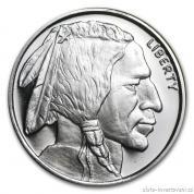 Investiční stříbrná mince Bizon-Buffalo