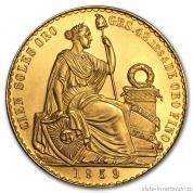 Zlatá mince Svoboda-Peru