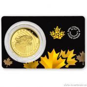 Investiční zlatá mince Puma-volání divočiny 2015
