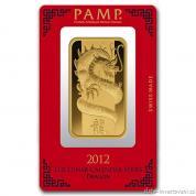 Investiční zlatá cihla rok Draka-PAMP