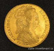 Zlatá mince Královna Maria -Brazílie