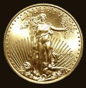 Investiční zlatá mince American Eagle