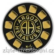 Investiční zlatý produkt Slunečnice-Argor Heraeus