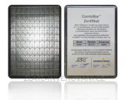 Investiční stříbrná kombi cihla Heimerle-Meule Valcambi 100 x 1g