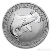 Investiční stříbrná mince Kladivoun 2015-Austrálie