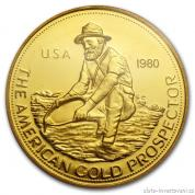 Investiční zlatá mince Prospektor-USA