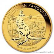 Investiční zlatá mince Australian Kangaroo 2014