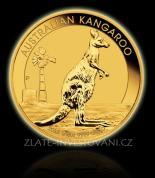Investiční zlatá mince Australian Kangaroo 2012