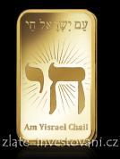 Investiční zlatá cihla Izrael-PAMP